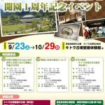 キトラ古墳周辺地区 開園1周年記念イベント