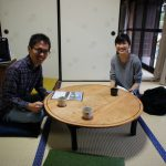 近大生が空き家のゲストハウス活用に関するインタビューに来てくれました。