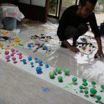 『奈良・町家の芸術祭 はならぁと』橿原エリアの準備も進んできてますよ。