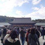 橿原神宮に初詣に行ってきました♪