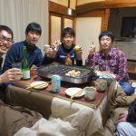 粕汁&たこ焼きパーティ