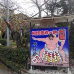 奈良マラソンへの挑戦~その④相撲神社&穴師坐兵主神社~